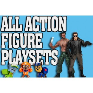 All Action Figure Playsets