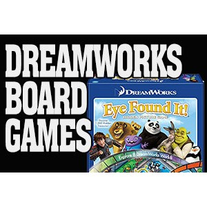Dreamworks Board Games