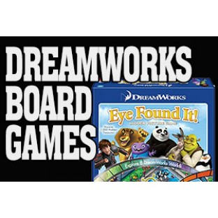 Dreamworks Board Games