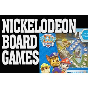 Nickelodeon Board Games