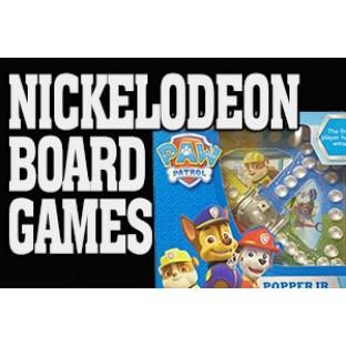 Nickelodeon Board Games
