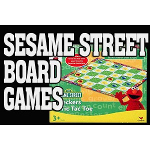 Sesame Street Board Games