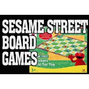 Sesame Street Board Games