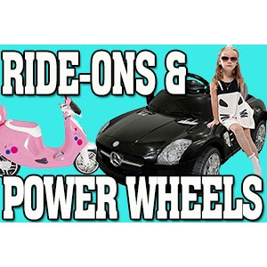 Ride-Ons & Power Wheels