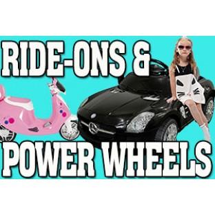 Ride-Ons & Power Wheels