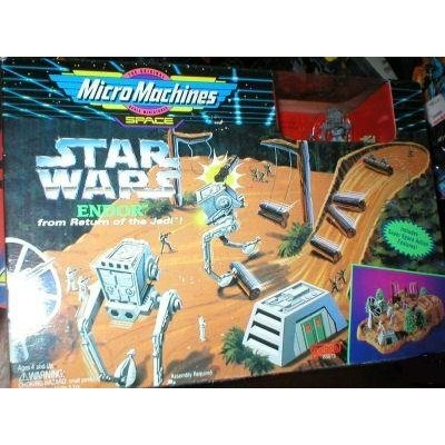Star Wars Micro Machines Endor from Return of the Jedi