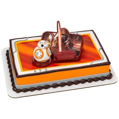 Star Wars The Force Awaken DecoSet Cake Decoration Topper