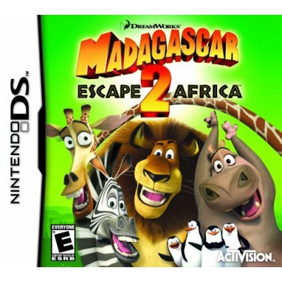 Madagascar 2: Escape 2 Africa - Nintendo DS
