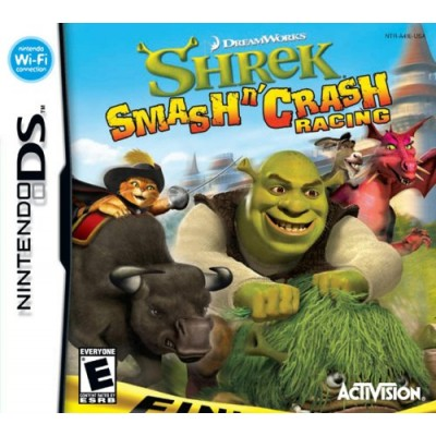 Shrek Smash 'N' Crash Racing - Nintendo DS
