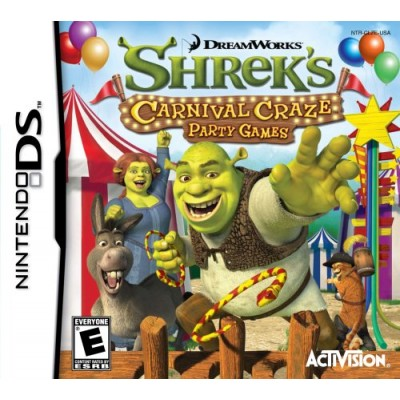 Shrek's Carnival Craze - Nintendo DS