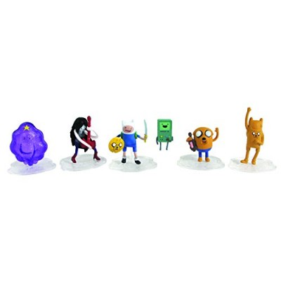 "Adventure Time 2"" Action Figure, 6 Pack (Style may vary)"