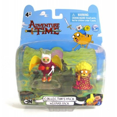 """Adventure Time 2"""" Wizard Finn and Wizard Jake"""