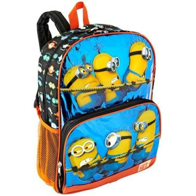 Despicable Me 2 Hey Hey Hey Minion Backpack Black/Blue