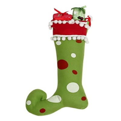 AMA(TM) Christmas Tree Hanging Boots Socks Decor Santa Festival Party Ornaments (green)