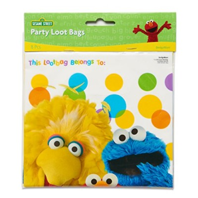 American Greetings Elmo Treat Bags (8 Count)