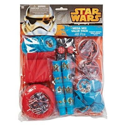 American Greetings Star Wars Rebels Party Favor Value Pack