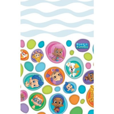 Bubble Guppies Plastic Table Cover 54in x 96in