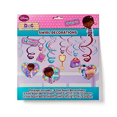 Doc McStuffins Hanging Party Decorations, Party Supplies