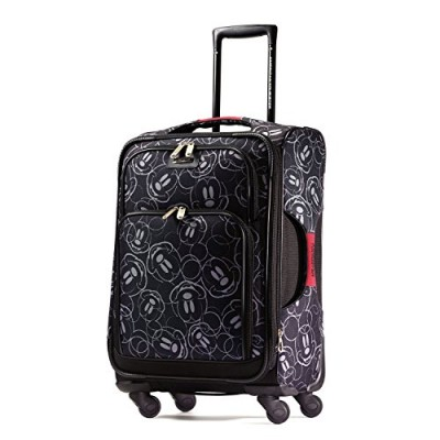 American Tourister Disney Mickey Mouse Multi-Face Softside Spinner 21, Multi, One Size