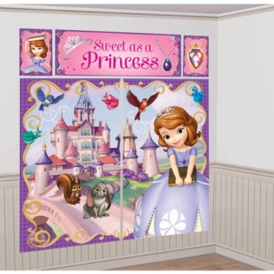 5-Piece Sofia The First Scene Setter Set, Multicolored