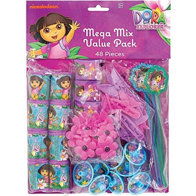 Dora the Explorer 'Flower Adventure' 48pc Favor Kit (1ct)
