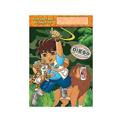 Go Diego Go! 'Biggest Rescue' Favor Bags (8ct)