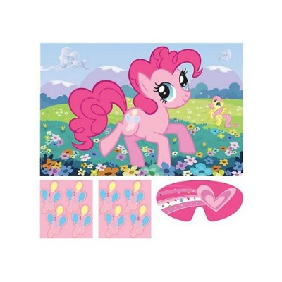 My Little Pony 'Friendship is Magic' Party Game Poster (1ct)