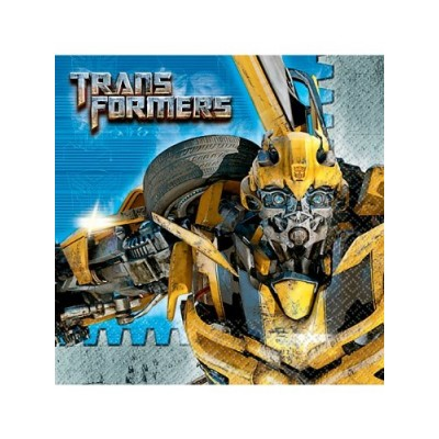 Transformers 3 - Beverage Napkins (16) Party Supplies