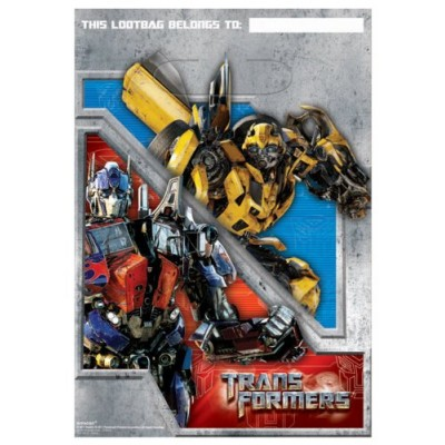 Transformers 3 - Treat Bags Party Accessory