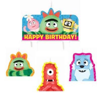 Yo Gabba Gabba Candles Birthday Cake Decorations Party Supplies