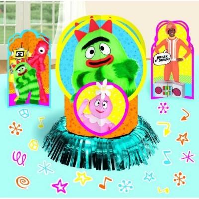 Yo Gabba Gabba Table Decorating Kit Centerpieces Confetti Birthday Party Supplies