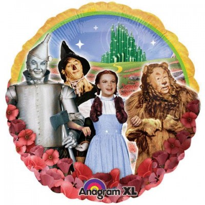 """Anagram International Wizard of Oz Group Foil Balloon Pack, 17"""", Multicolor"""
