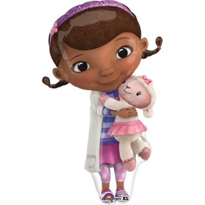1 X Doc McStuffins Shaped Balloon