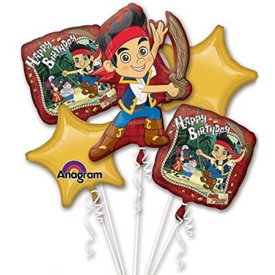 1 X Jake and the Neverland Pirates Birthday Bouquet