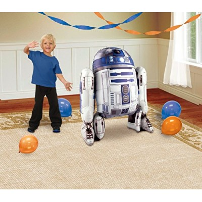 1 X Star Wars R2D2 AirWalker Foil Balloon