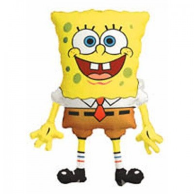 Anagram SpongeBob 28 in Balloon