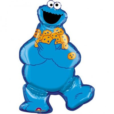 Cookie Monster Super Shape By Anagram