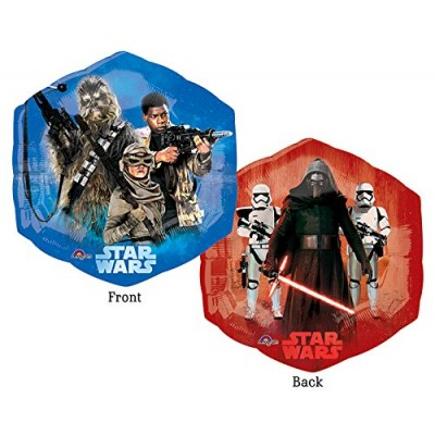 NEW Star Wars Happy Birthday Balloon Decoration Kit