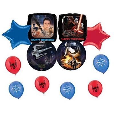 NEW Star Wars Happy Birthday Balloon Set