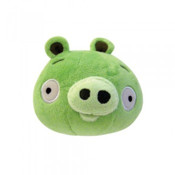Angry Birds Plush 5-Inch Piglet with Sound