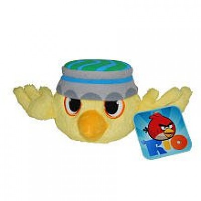 Angry Birds RIO 5-Inch Yellow Bird with Sound