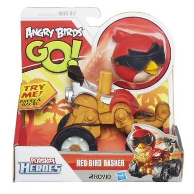 Playskool Heroes Angry Birds Go! Red Bird Basher