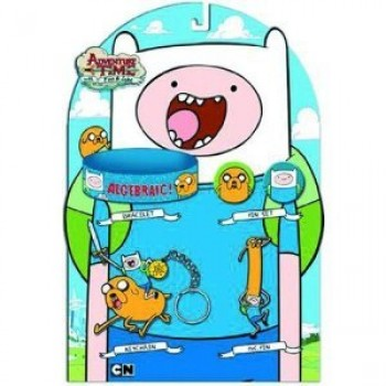 1 X Adventure Time with Finn Jake Accessory Set