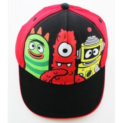 Yo Gabba Gabba Hat - Yo Gabba Gabba! Baseball Cap (Red & Black)