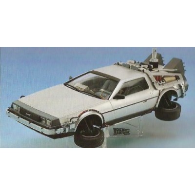 Back to the Future Part II & Driver [ Ready to Assemble Precision 1/24 Model Kit ]
