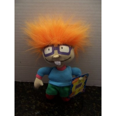 """Rugrats Chuckie Collecible 7"""" Plush (NEW WITH TAGS! 1997) by Applause"""