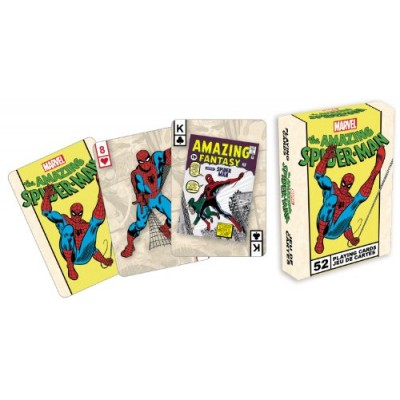 Marvel Comics The Amazing Spiderman Playing Card Game