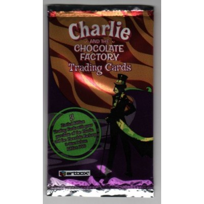 Charlie and the Chocolate Factory Limited Edition Trading Cards Pack.