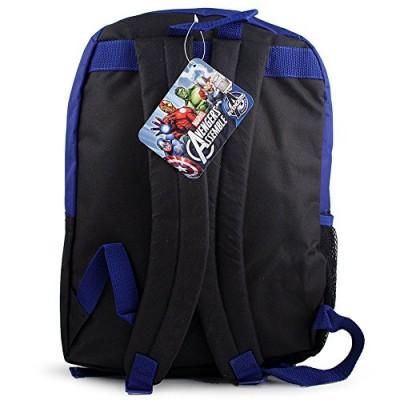 """Backpack - Marvel - Avengers 16"""" w/Lunch Kit New Large School Bag 287960"""