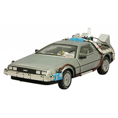 Back to the Future Elite 1:18 Scale Die-Cast DeLorean Vehicle
